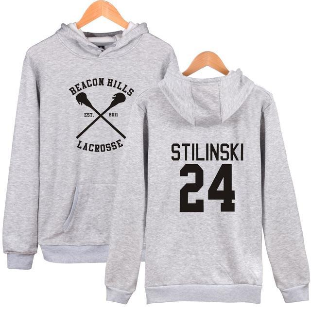 2018 harajuku beacon hills Hoodies men women survetement femme Teen Wolf Fandresskily-dresskily