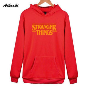 Aikooki 2018 Stranger things Hoodies men/women White Cotton High Quality Men's Hoodiesdresskily-dresskily