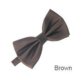 Men Bow Tie For Mens Bowties Solid Bowtie Black Bowties Gold Bowdresskily-dresskily