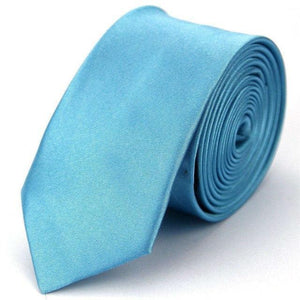 Mens Ties Accessories Skinny Tie for Men Fashion Casual Solid Slim Necktiesdresskily-dresskily