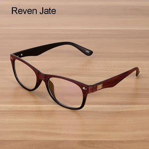 Men and Women Unisex Wooden Pattern Fashion Optical Spectacles Eyeglasses Highdresskily-dresskily