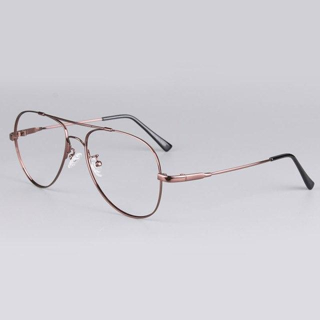 Full Rim Super Flexible Memery Metal Alloy Titanium Optical Eyeglasses Framedresskily-dresskily