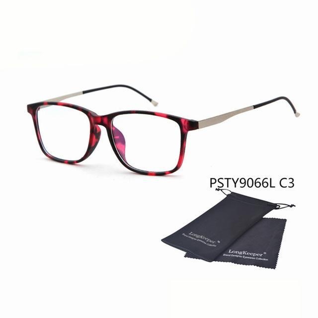 Transparent Women Men Glasses Frame 2017 Fashion Square Glass Clear Eyeglassesdresskily-dresskily