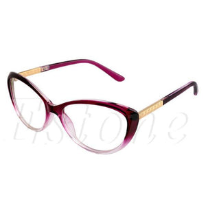 Women Optical Glasses Frame Cat Eye Eyeglasses Anti-fatigue Computer Reading Glasses Eyeweardresskily-dresskily