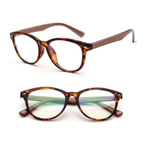 2017 Retro Eyeglasses Frame Full-Rim Men Women Vintage Glasses Eyewear Clear Lensdresskily-dresskily