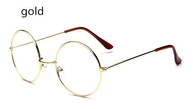 Vintage Round Glasses Men Harry Potter Glasses Frame Prescription Eyewear Clear Glassesdresskily-dresskily