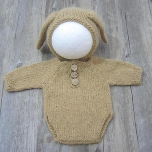 Mink yarn knit newborn dress clothes romper photo props,winter warm clothes,handmade romperdresskily-dresskily