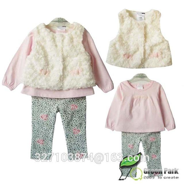 Retail 2018 new style baby girl's set spring autumn winter clothing setdresskily-dresskily