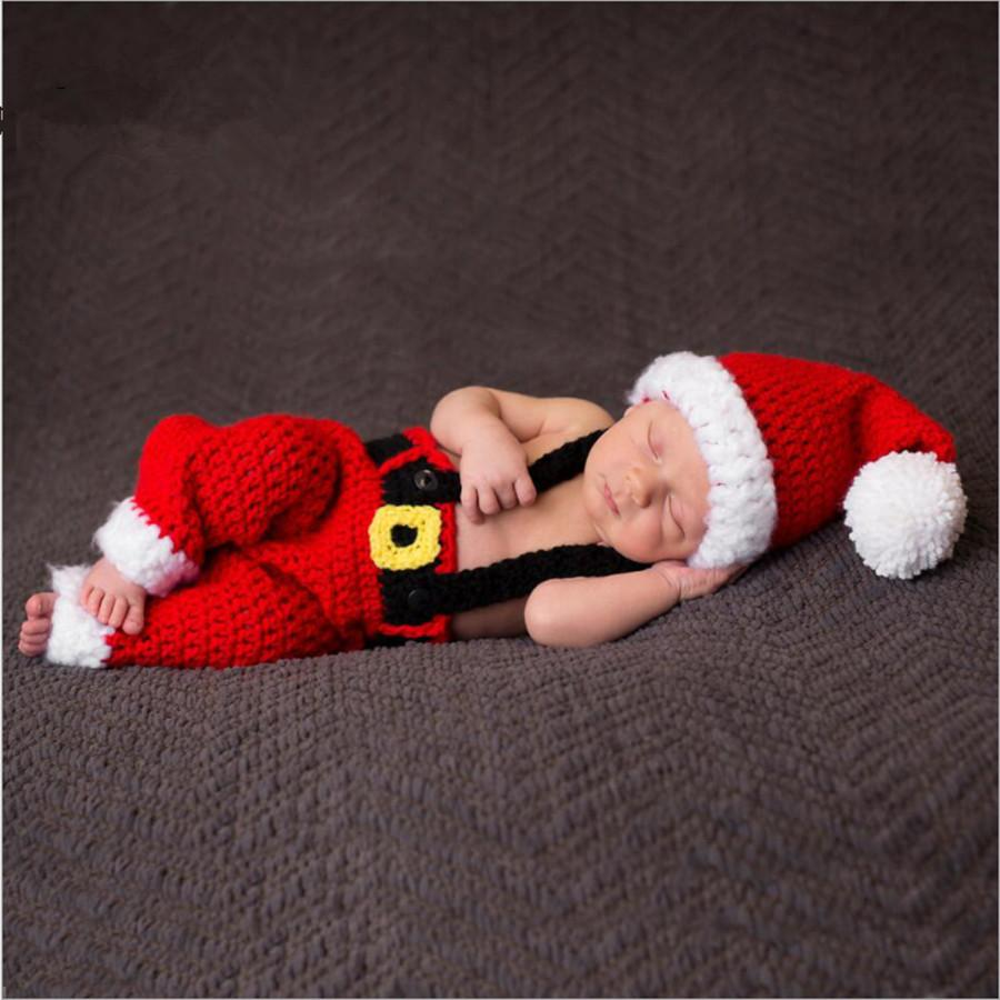 baby clothes noel for boys and girls new born photography props Christmasdresskily-dresskily