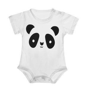Unisex Baby Romper Cotton Breathable Short Sleeves Summer O-Neck Casual Print Animaldresskily-dresskily