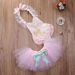 2016 Newborn Baby Girls Clothes 0-24M Infant Kids Toddler Girl Princess Tutudresskily-dresskily