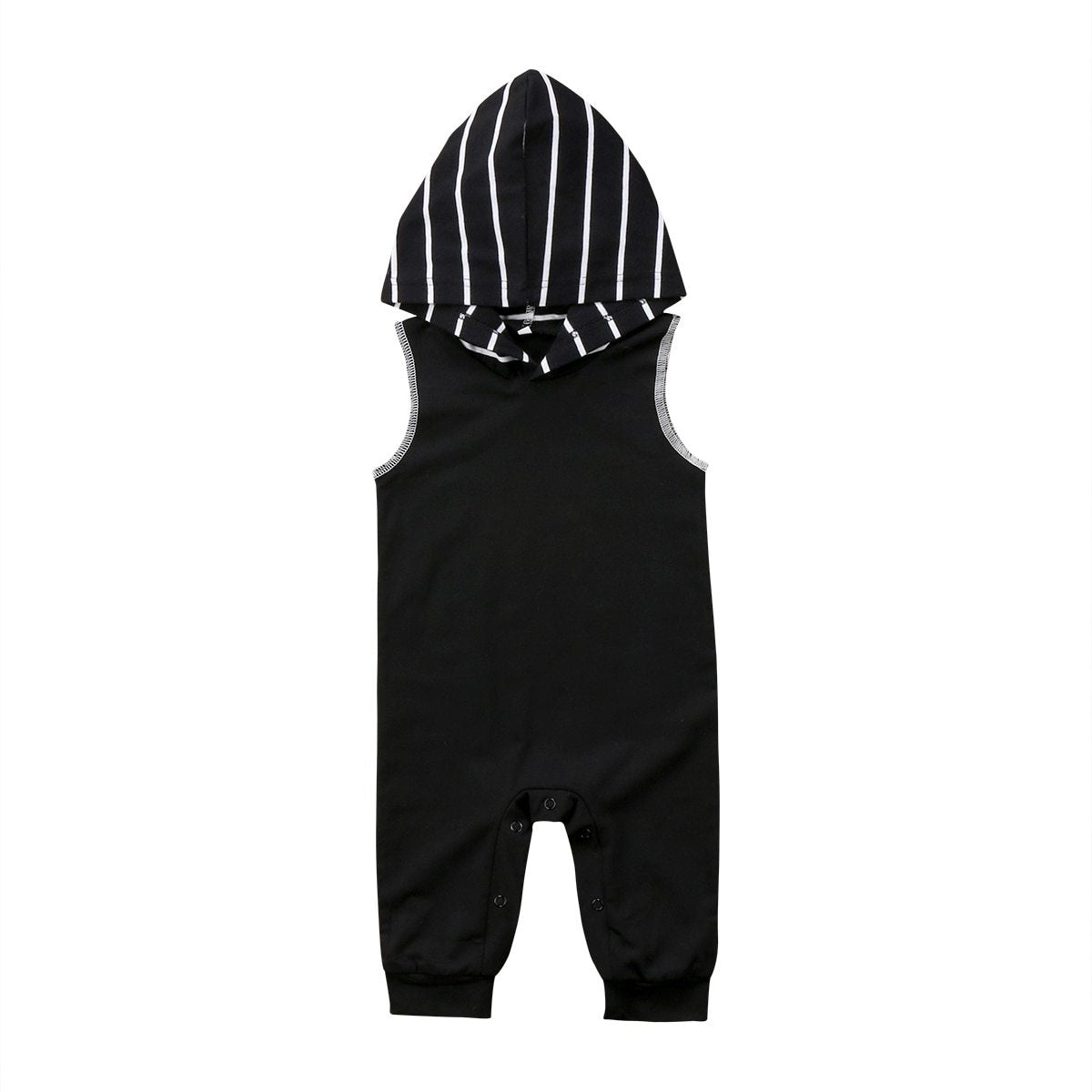 Infant Newborn Rompers Baby Boys Summer hooded Romper Jumpsuit Cotton Tanks Clothesdresskily-dresskily
