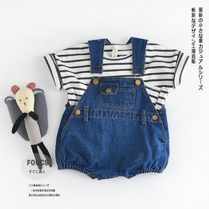 One-piece infant clothing baby romper boys unisex kids girls overalls newborn clothingdresskily-dresskily