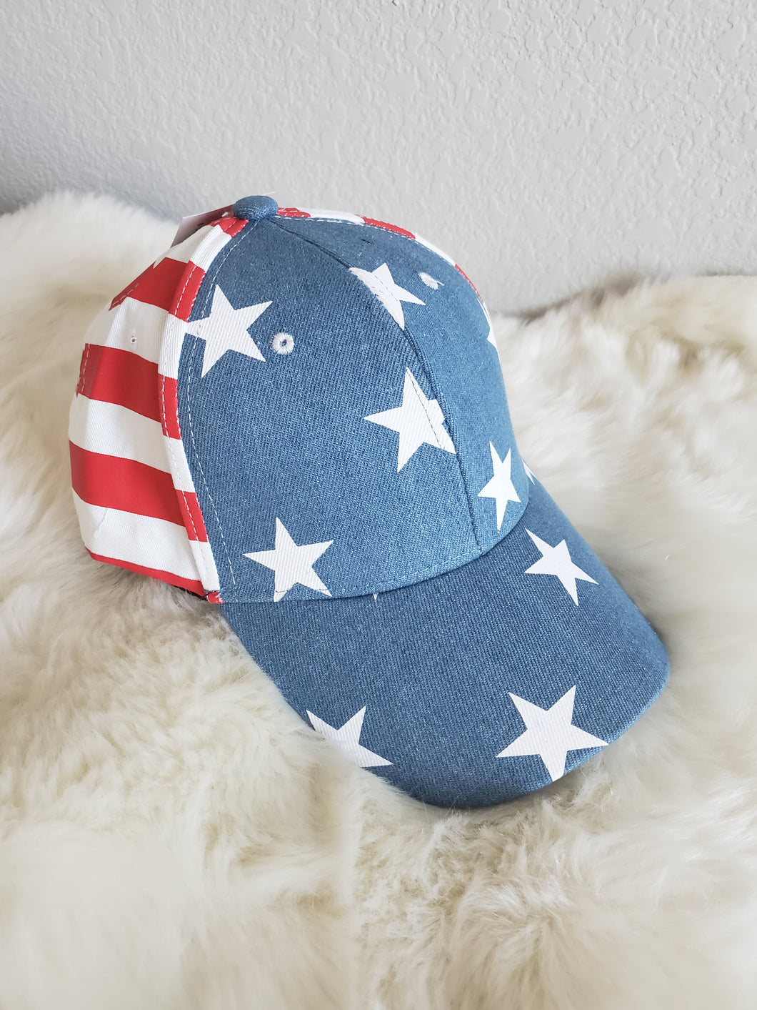 Red White & Blue Hat