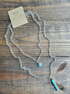 Bar Turquoise Necklace