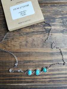 3 Piece Turquoise Necklace