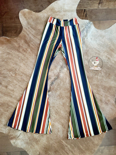Dark Multi Striped Flares