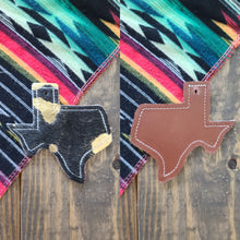 Load image into Gallery viewer, Texas Cowhide Charm