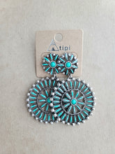 Load image into Gallery viewer, Wagon Wheel Earrings