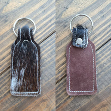 Load image into Gallery viewer, Cowhide Keychains