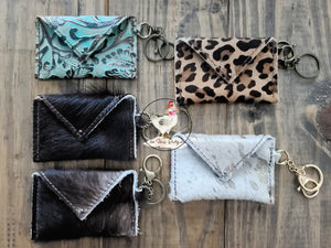 Cowhide Credit Card/Cash Wallets