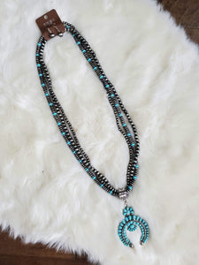 Western Squash Blossom Necklace