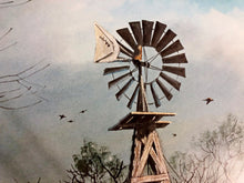 Load image into Gallery viewer, John Dearman - Windmill Shootout - Framed Lithograph - Size 25 x 31 - Artist Proof
