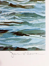 Load image into Gallery viewer, John P. Cowan - Blindside - Framed Lithograph - Frame 30.5 x 37 - Fishing Reds - 1992