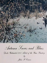 Load image into Gallery viewer, John P. Cowan - Autumn Snows and Blues - Framed Lithograph - Frame 30.5 x 37 - Mint Condition