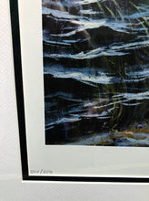 Load image into Gallery viewer, Herb Booth - Sand Spots 2006 - Framed Lithograph - Print Size 25.5 x 31 - Frame Size 34 x 40 - Red Fishing Scene