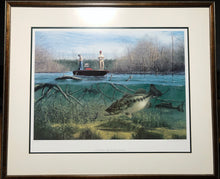 Load image into Gallery viewer, John Dearman - Tempting Offer - Framed Lithograph - Image Size 25 x 31 - Frame Size 38 x 32