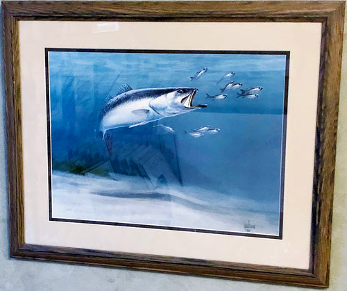 John Dearman - Speck, Number 55 of 980- Framed Lithograph - Size 19 x 22 - Mint Condition - New Framing - Ultra Rare