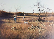 Load image into Gallery viewer, John Dearman - Deadwood Covey - Framed Lithograph - Size 25 x 31 - Artist Proof - Quail Hunting
