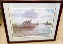 Load image into Gallery viewer, John P. Cowan - Blindside - Framed Lithograph - Frame 30.5 x 37 - Mint Condition -