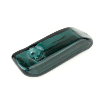 Arden Glass Pipe - Teal | Hemlock Rose