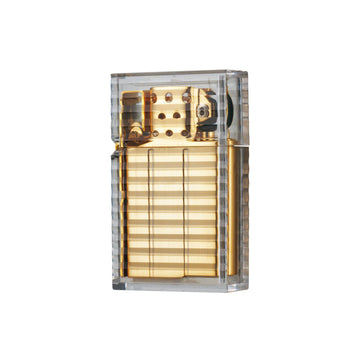 Tsubota Gold Clear Latitude Lighter | Hemlock Rose