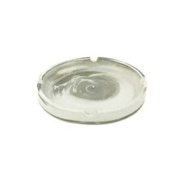 Hemlock Rose | Awesome Fortress Ceramic White Marble Ashtray