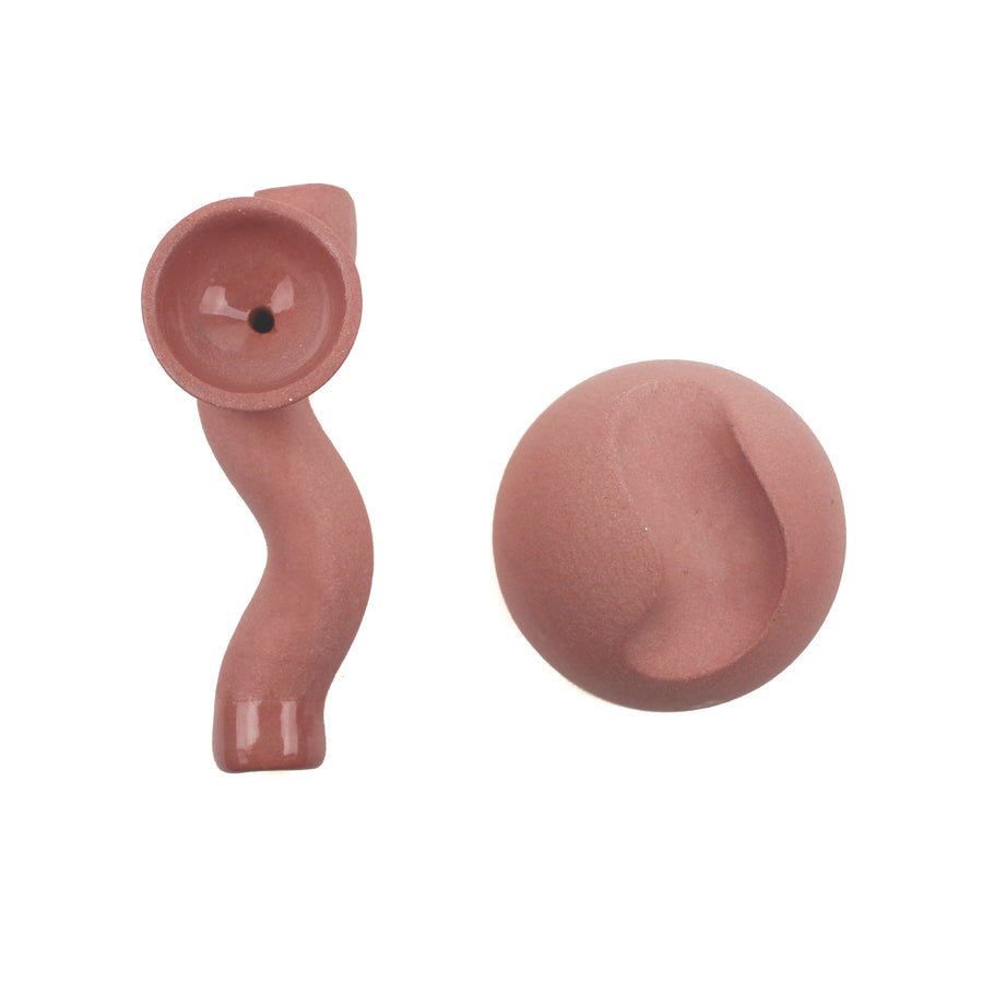 Summer School Wavy Days Pink Pipe | Hemlock Rose