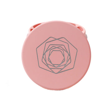 The Rose Pink Plant Herb Grinder | Hemlock Rose