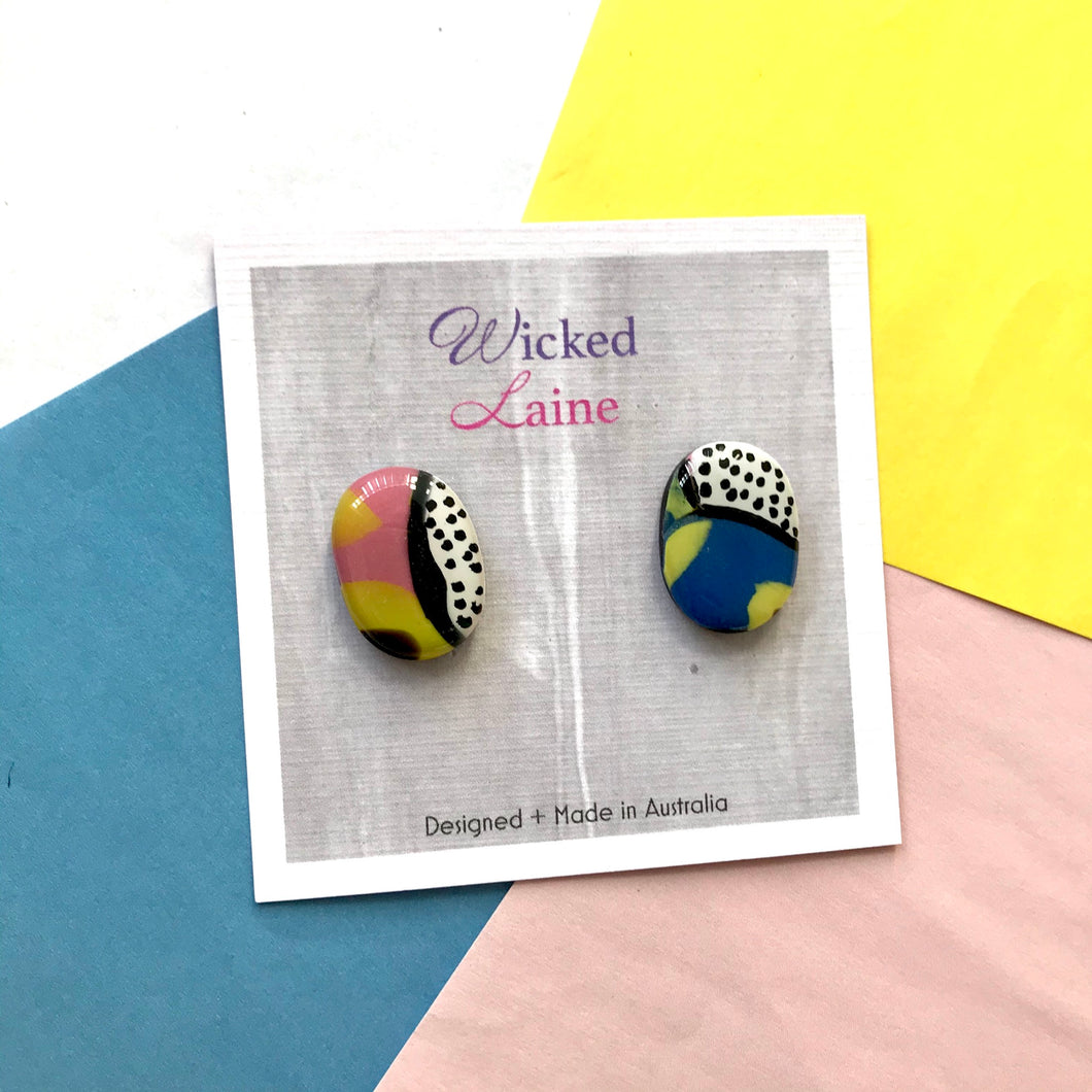 Walk On The Wild Side Studs