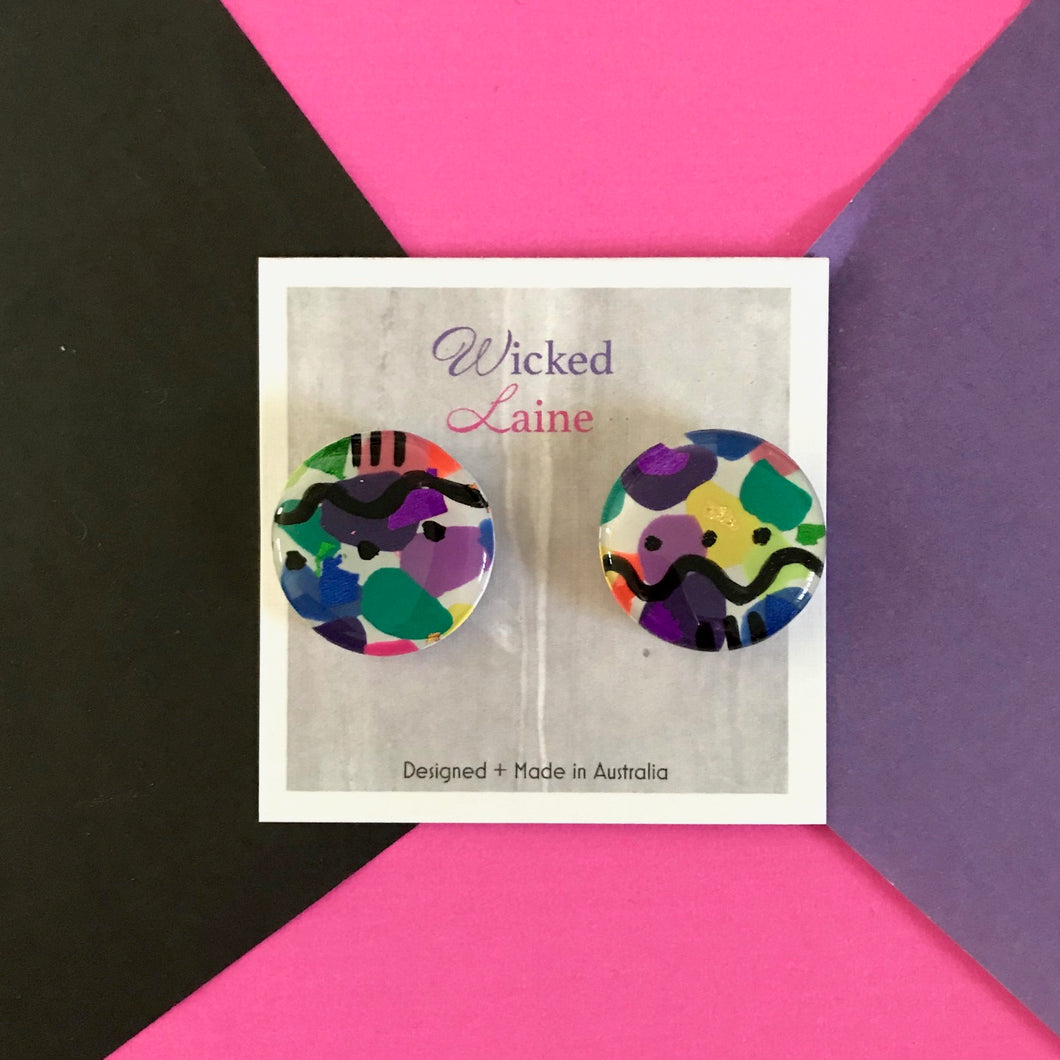 Chromatic Candy Studs