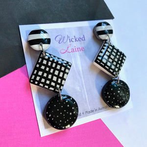 Mismatched Monochrome Dangles