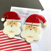 Load image into Gallery viewer, Santa Bloomy Dangles #1