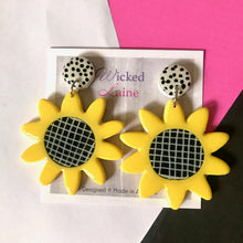 Load image into Gallery viewer, Sunflower Dangles