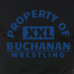 PROPERTY OF BUCHANAN WRESTLING