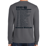 2020 State Championship Fan Long Sleeve (Gray)