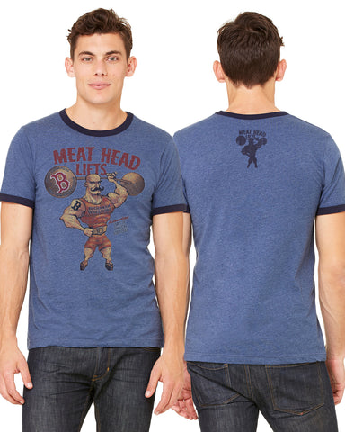 Meat Head Lifts Navy TShirt