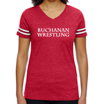 Ladies Buchanan Wrestling T (2 Colors)