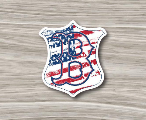 "Buchanan Shield ""B"" Sticker"
