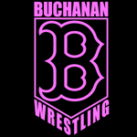 Buchanan Wrestling Brest Cancer Awareness T-Shirt
